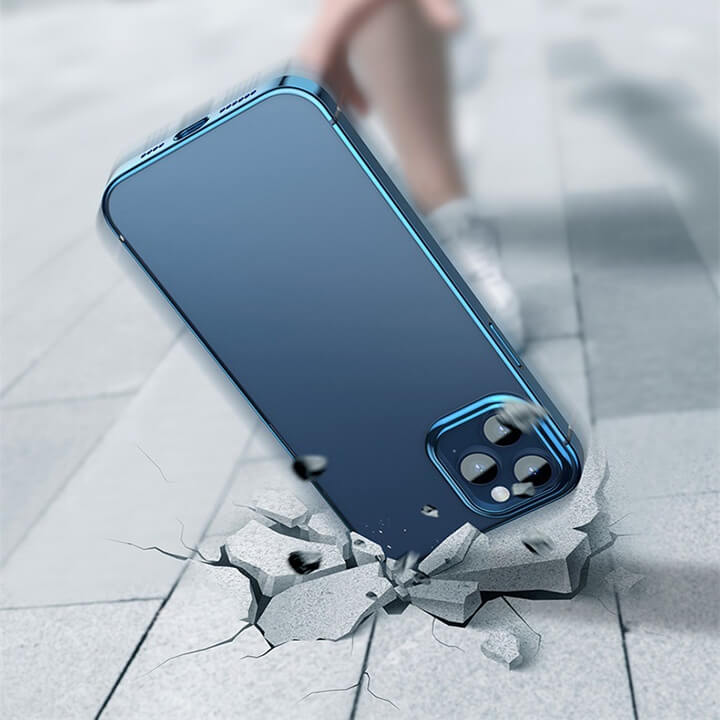 Ốp lưng trong suốt mặt lưng iPhone 12 Baseus Shining