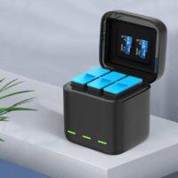 Dock sạc GoPro 9 Telesin chính hãng ( Sạc 3 Pin )