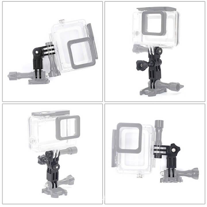 Khớp nối GoPro và Action Cam hợp kim nhôm CNC