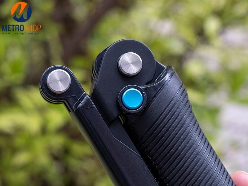 Gậy 3 khúc Gopro và Action cam Telesin V2 ( Three way )