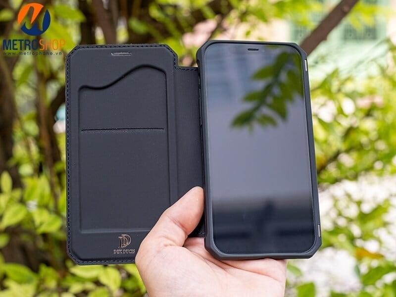 Ốp lưng nắp gập iphone 12 dux ducis chính hãng