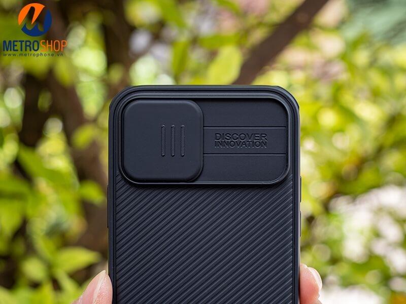 Ốp lưng bảo vệ Camera iPhone 12 Nillkin chính hãng