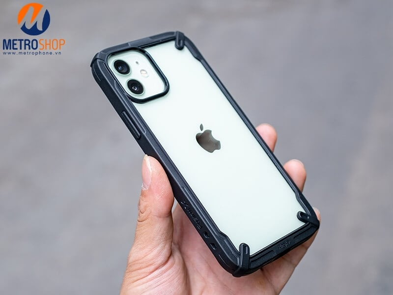 Ốp lưng chống sốc iPhone 12 Ringke FUSION X
