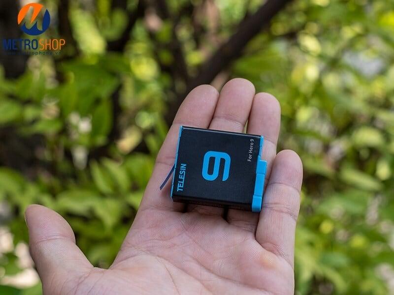 Pin gopro 9 telesin chính hãng
