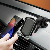 Kẹp giữ điện thoại trên xe ô tô Upergo CP-10